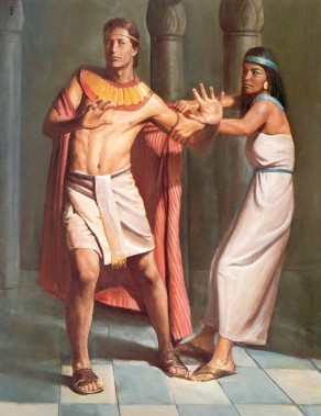 Joseph resists temptations